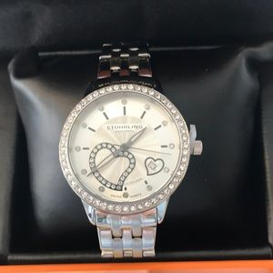 NWB Stuhrling Original Krysterna Crystal watch!